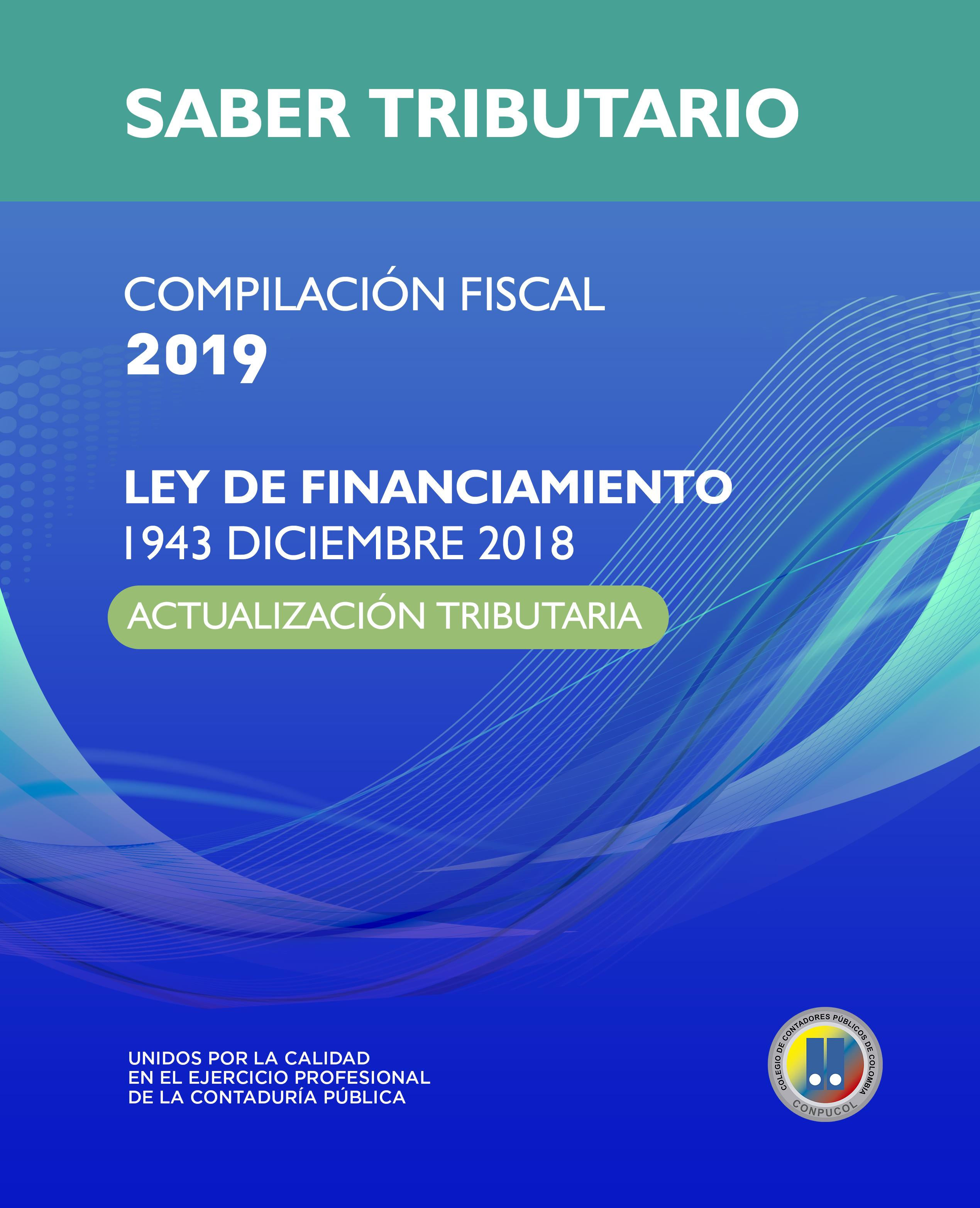 Cartilla De Actualización Tributaria Y Ley De Financiamiento